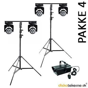 Wash moving heads - Pakke 4